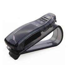 Car Sun Visor Glasses Holder Ticket Clip For Saab 9-3 9-5 9000 93 900 95 aero 9 3 42250 42252 9-2x 9-4x 9-7x AUTO Accessories