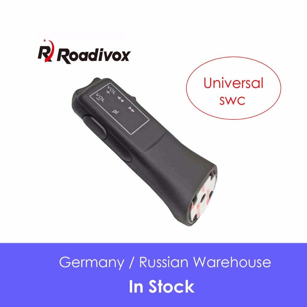 Botón para volante de coche mando a distancia coche con luces navegación DVD / 2 din android con Bluetooth control remoto Universal inalámbrico