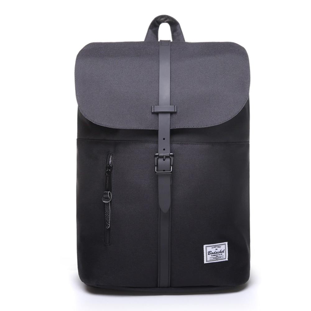 Mochila para mujer de Bodachel, Oxford elegante mochila para portátil de 14 pulgadas, mochila impermeable de gran calidad, mochila de viaje Rugzak