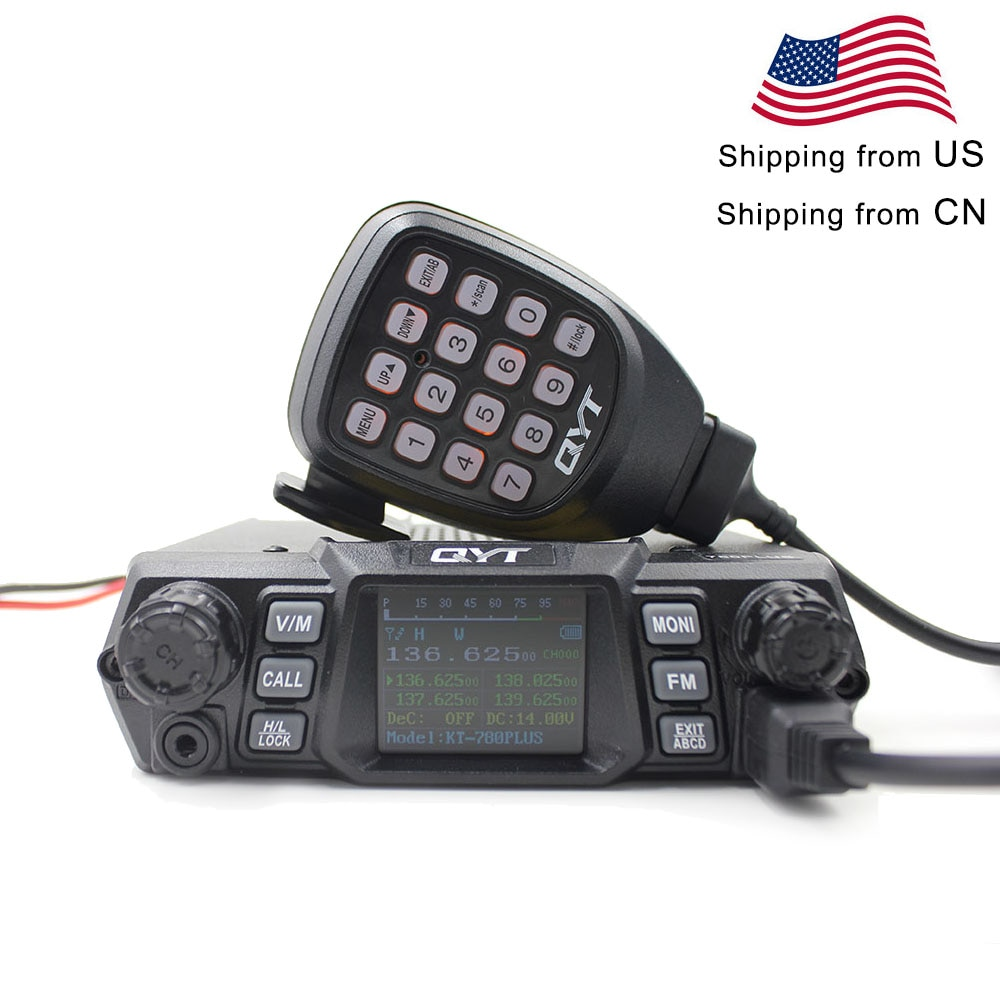 QYT المحمول راديو KT-780PLUS VHF 136-174MHz أو UHF 400-480MHz 100W /75W اسلكية تخاطب KT780PLUS الإرسال والاستقبال