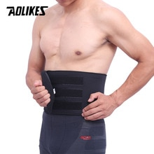 Поясничный ремень AOLIKES, 1 шт., для поддержки талии, для поясницы, для терапии спины, впитывания пота, фитнеса, спорта, Защитное приспособление