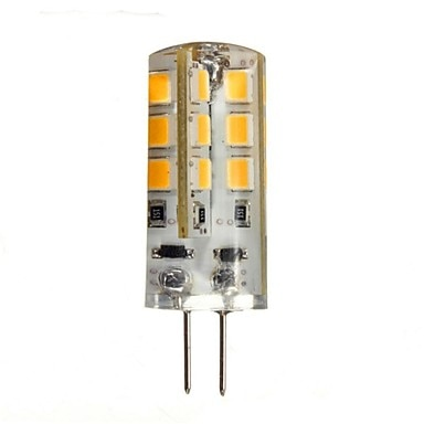 5X HRSOD G4 3W 24 SMD 2835 270 LM Warm White Cold White LED Bi-pin Lights DC 12 V 10pcs lot 2 5w led bi pin lights t 33 smd 2835 210 lm warm white white ac 220 240 v g9