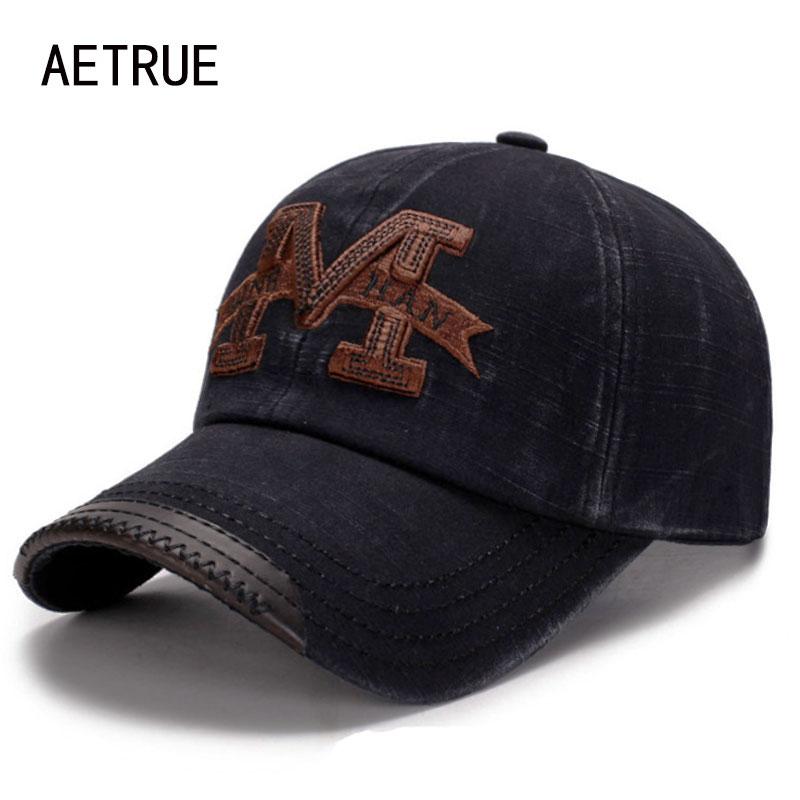 AETRUE Mode Marke Baseball Kappe Männer Hysterese Kappen Frauen Casquette Hip hop Knochen Dad Hüte Für Männer Gorras Männlichen Baseball hut Kappe