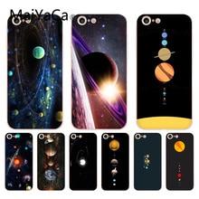 MaiYaCa para iphone 7 6 6 X Saturno Saturnus planetas del Sistema Solar funda transparente para iPhone 7 6 6S Plus X XS X XR XSMAX