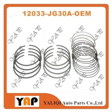 QR25DE QR25 juego de anillos de pistón para FITNISSAN ROGUE X-TRAIL S35 T31 T31P T31Z 2.5L L4 16V STD 12033-JG30A 2007-2014