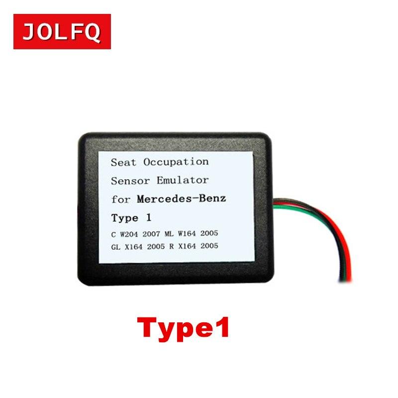 JOLFQ al por mayor MB SRS emulador Tipo 1 para Mercedes para benz C W204 GL X164 ML W164 R X164