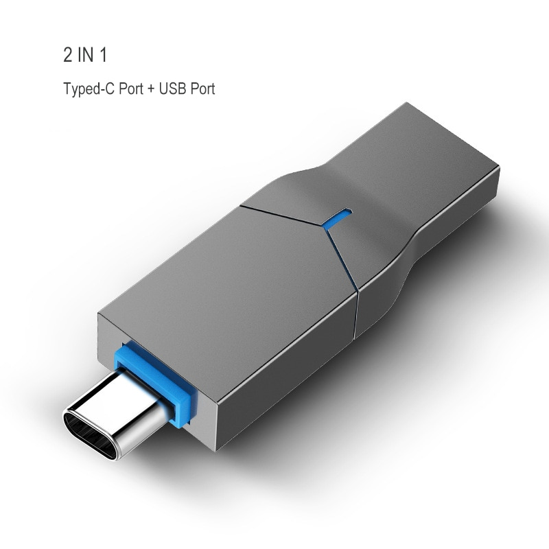 2 in 1 Novelty Type-C USB Flash Drives 64GB 128GB 16GB 32GB For Android USB Stick Typed C Flash Memory Disk Dropshipping