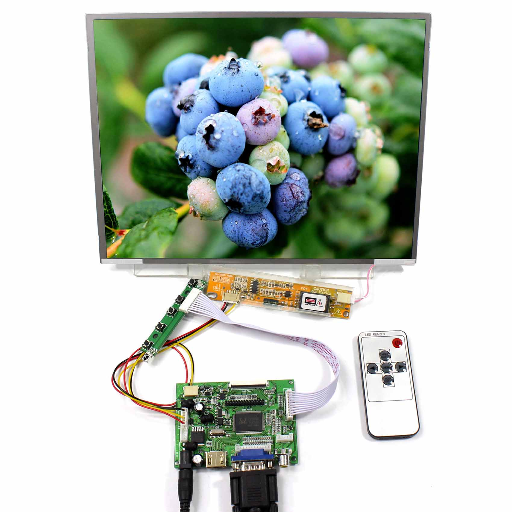 Placa controladora HDMI VGA 2AV lcd VSTY2662-V1 con 12,1 pulgadas 1024x768 N121X5 LTN121XJ HT121X01 Panel LCD