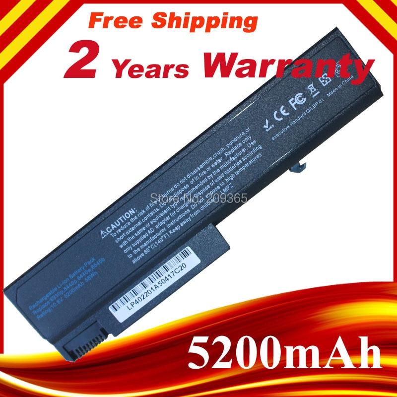 5200 mAh 6 Zellen notebook Laptop Batterie HSTNN-IB68 Für HP ProBook 6450b 6440b 6530 6540b 6555b 6930 p 6550b 8440 p caderno