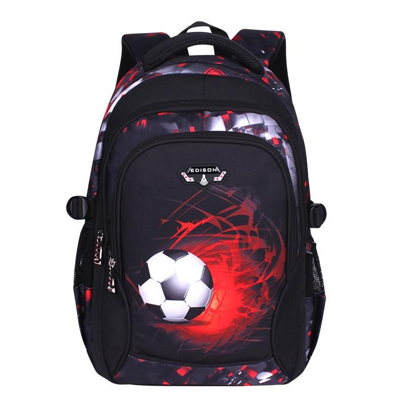 Водонепроницаемые городские рюкзаки для бега, подходящие для классов От 1 до 9 лет, детский школьный рюкзак для мальчиков, 3 стиля