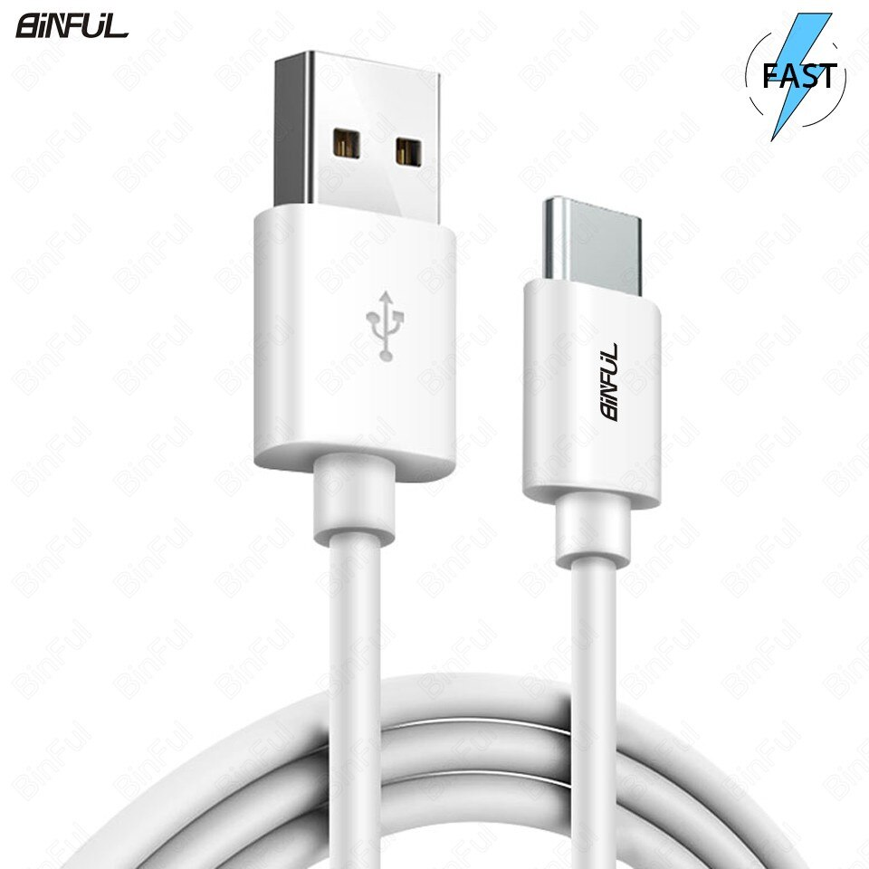 Adaptador USB, USB tipo C USB-C rápido cable de carga para Samsung Galaxy Note 8/9 S8/S9/Plus carga rápida Cable de cargador de teléfono móvil cable de datos 1m