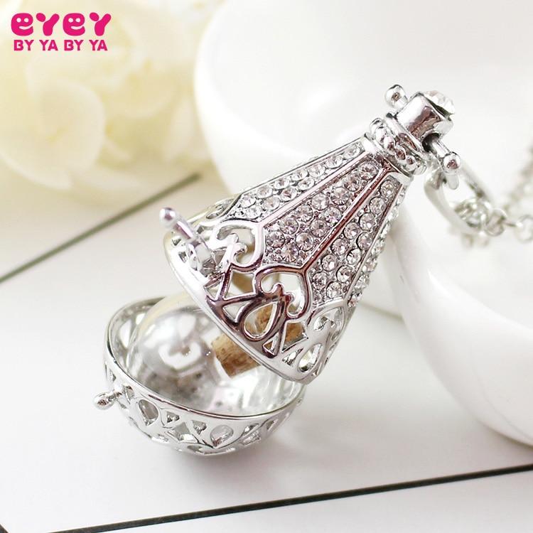 1PC Large Teardrop Locket with Fillable Glass Orb Keepsake Locket Urn Jewelry  Urn Hair Locket Pendant Cremation Jewelry