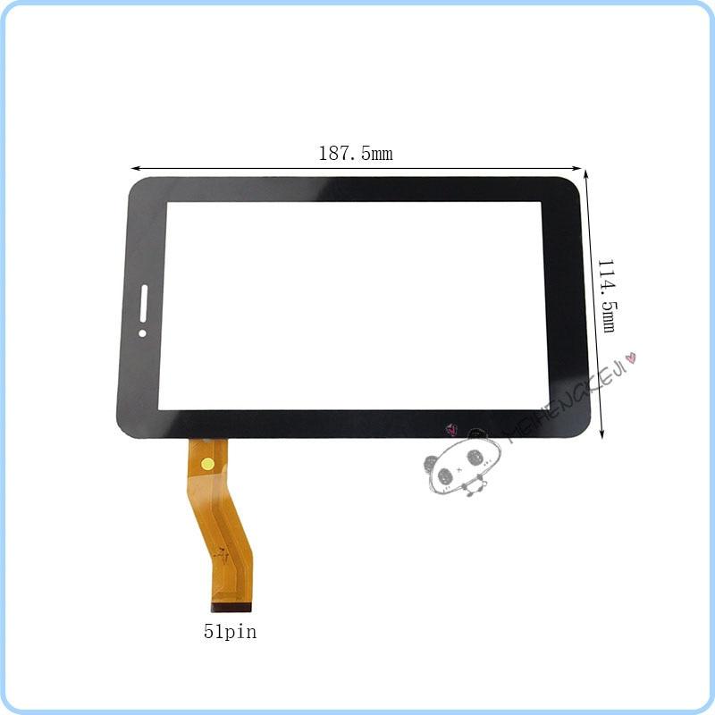 Nouveau panneau de numériseur décran tactile de 7 pouces pour tablette pc Telefunken TF-MID708G