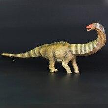 공룡 장난감 apatosaurus 모델 선물 액션 피규어 어린이 교육 컬렉션 동물 모델