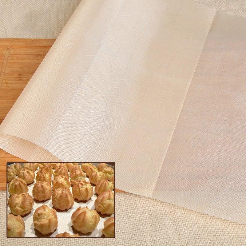 Plancha de calor estera de hornear reutilizable lámina de artesanía antiadherente resistente al calor fácil de limpiar Parrilla de barbacoa y esteras de hornear macarrones
