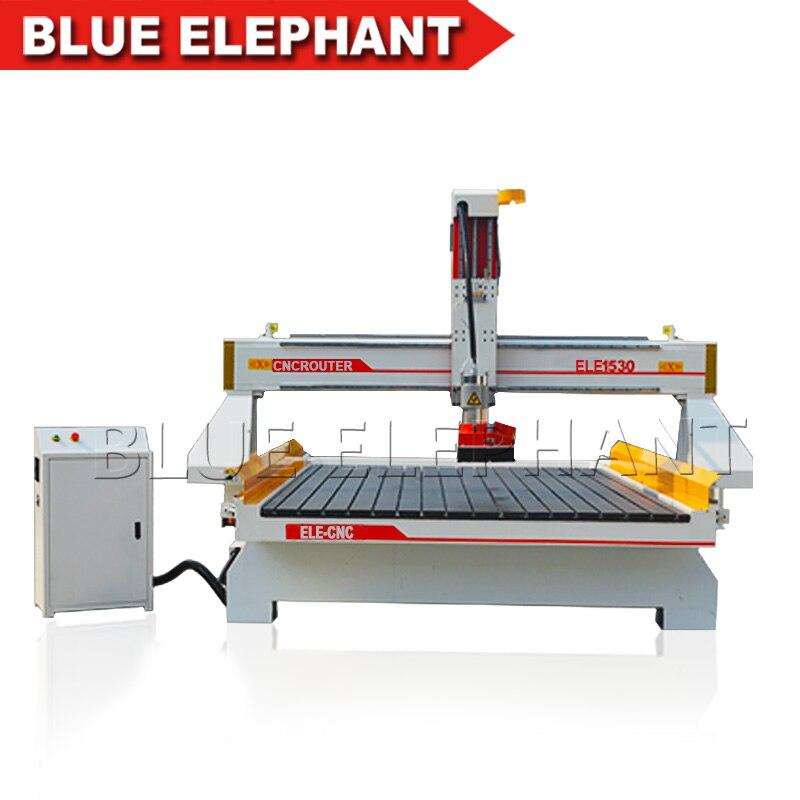 Cnc máquina de escultura em madeira 1530 cnc máquina router para trabalhar madeira de alta z eixo 1500*3000mm, madeira cnc router barato e de boa qualidade