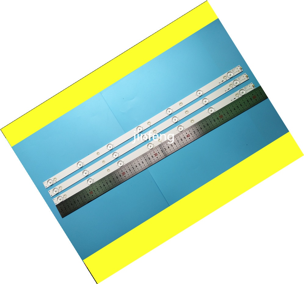 جديد 30 قطعة 7LED 615 مللي متر LED قطاع ل LBM320P0701-FC-2 32PFK4309-TPV-TPT315B5 32PFK4309 32PHS5301 TPT315B5 LB-F3528-GJX32030