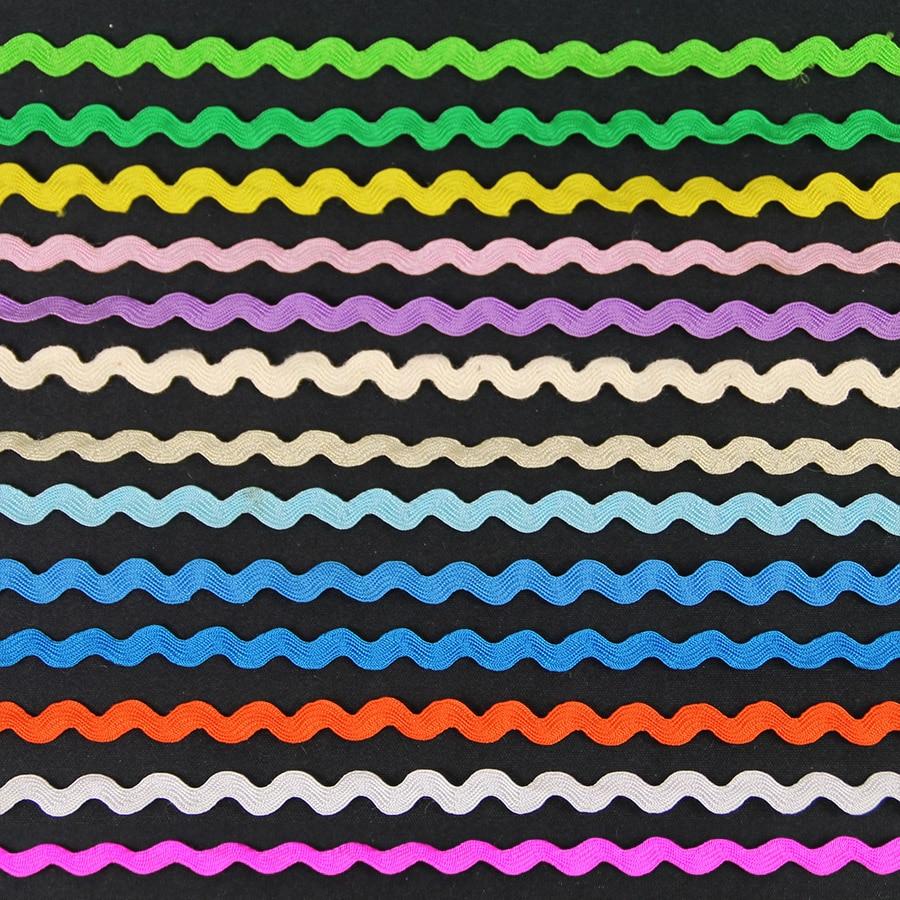 Cinta de encaje ondulado en forma de S para decoración de disfraces...