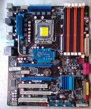 Asus p6t se 1366 pinos x58 placa-mãe suporte x5650 5670 w3690 pode ser overclock, usado placa-mãe