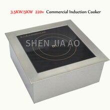 3. 5 kW/5KW Cocina de Inducción de alta potencia horno de sopa plano 220V cocina comercial Cocina de Inducción máquina de cocina caliente 1PC