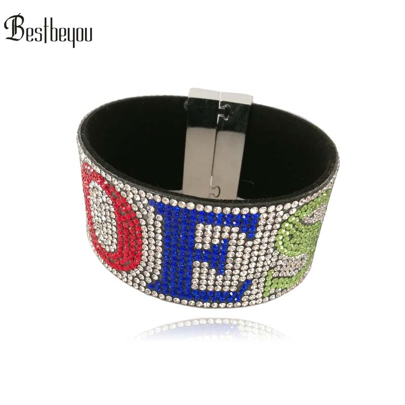 Sororité grecque personnalisé os Logo strass bijoux fantaisie cadeau bracelet bracelet