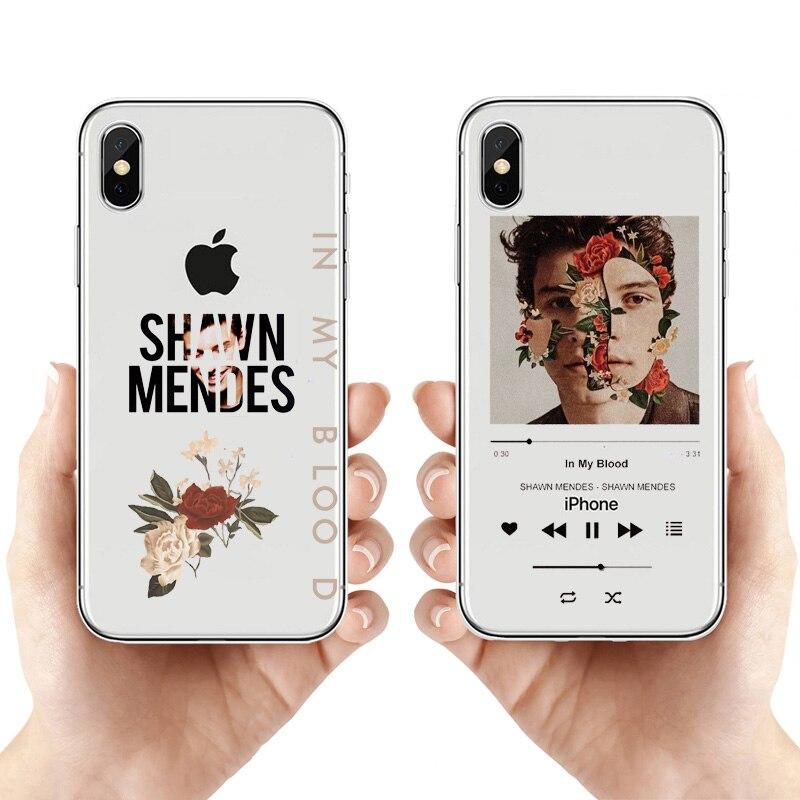 Shawn Mendes en mi sangre juventud caso de teléfono para el iphone...