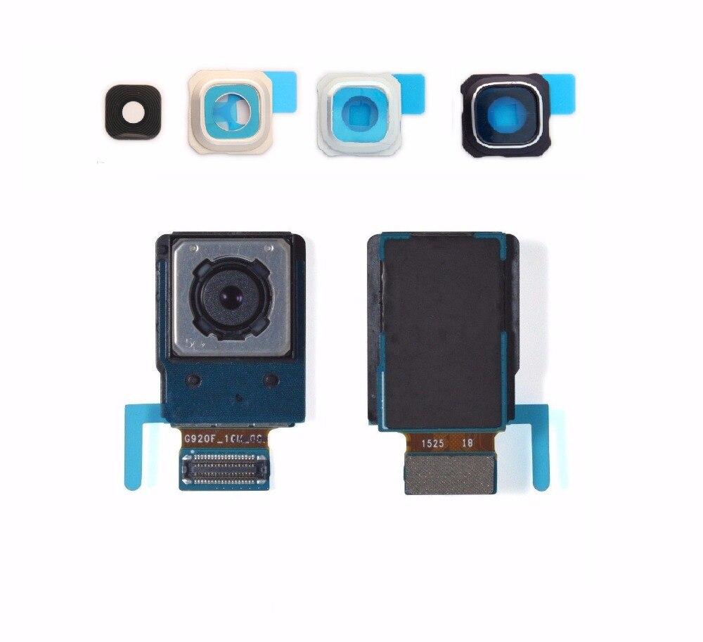 Cámara frontal trasera principal cámara trasera cámara grande con lente de cámara para Samsung Galaxy S6 Edge Plus SM-G928