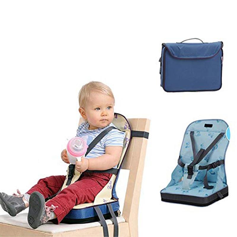 Детское портативное кресло, водонепроницаемая ткань Оксфорд, складной пояс для кормления
