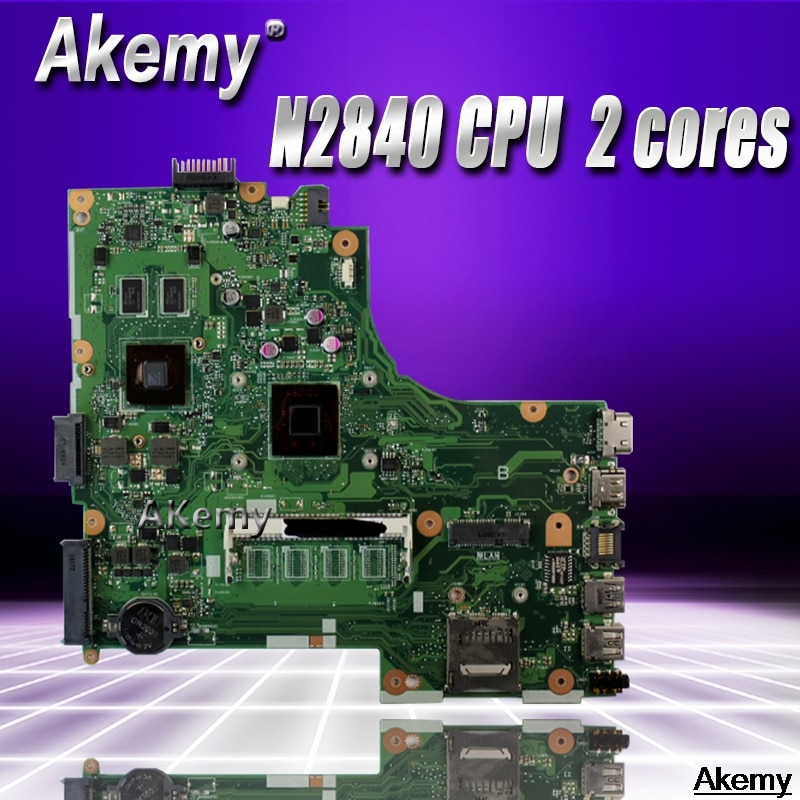 لوحة أم للكمبيوتر المحمول X450MJ لأجهزة For Asus X450MD X450M X452M X450MJ لوحة رئيسية 100% تم اختبارها مع وحدة المعالجة المركزية N2840 2 النوى