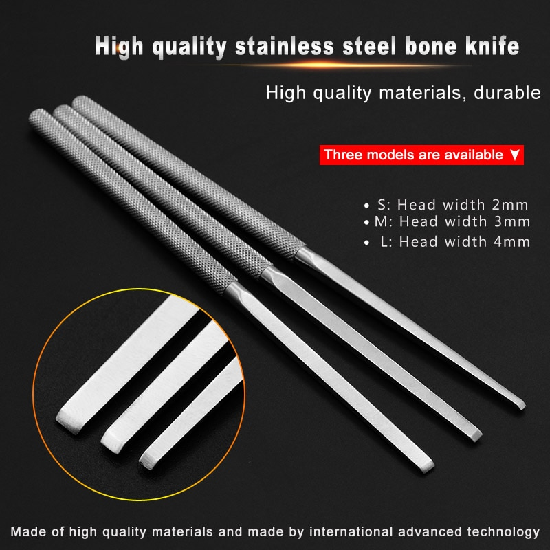 Bone knife medical pet orthopedics osteotome sacral chute osteotomy knife flat bone chisel femoral head resection