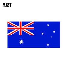 YJZT 15.8CM * 7.8CM australien Aus drapeau National drôle voiture autocollant autocollant PVC 12-0547