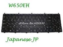 Klavye için CLEVO W650EH MP-12N73J0-430 MP-12N70J0-430 6-80-W6500-212-1 japonca JP çerçeve olmadan
