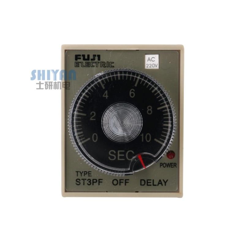 Envío Gratis Fuji relé de tiempo ST3PF apagado retraso doméstico de alta calidad 220V