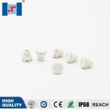 Vis en plastique perméable à lair   Valve de ventilation étanche en Nylon, 100 pièces/sac blanc M6 * 0.75 bouchon de ventilation pour éclairage au courant