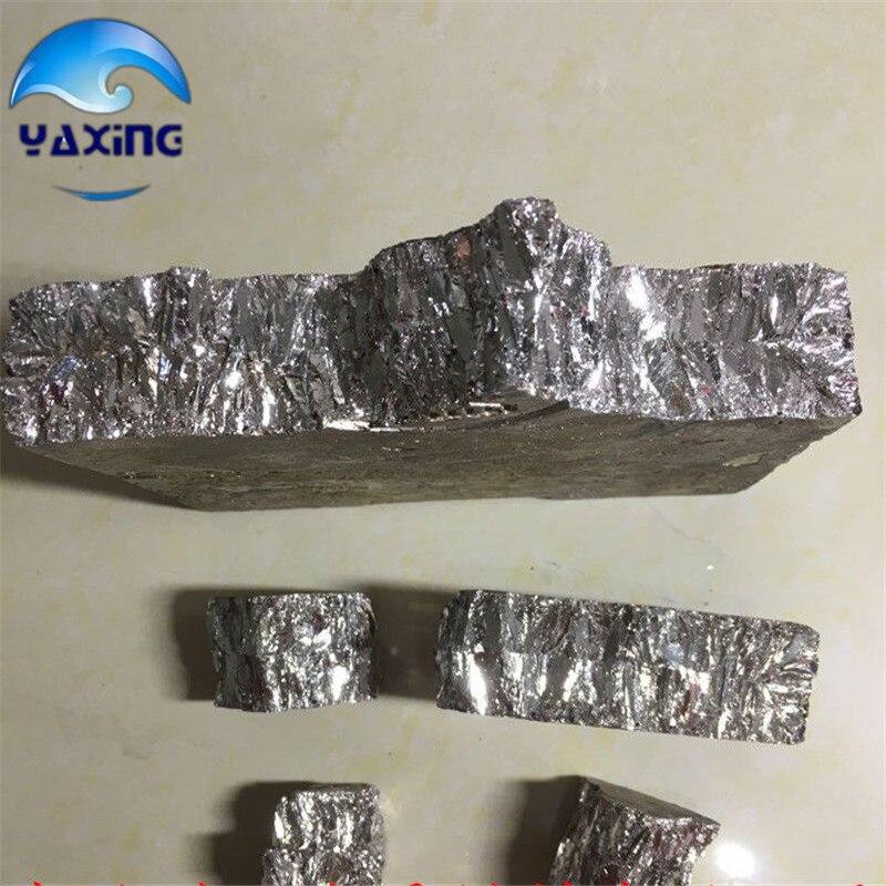 200g de alta pureza 99.99% bismuto lingote de metal bigrumos lingote de Metal