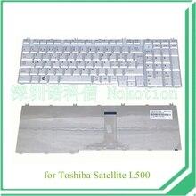 NOKOTION PK130732B08 Laptop Ersatz Tastatur für toshiba satellite L500 serie silber UK garantie 60 tage