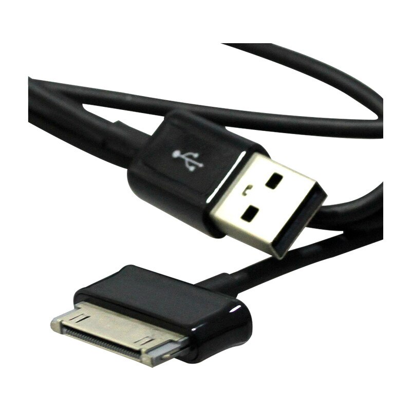 "USB Cabo De Carregamento De Dados Para Samsung Galaxy Tab 10.1 ""8.9"" P1000 P3100 P1010 N8000 P5100 P5110 P7510 P7500 p6200 1 m"