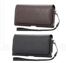 Pour Philips Xenium W6610 X588 X818 V377 V526 V387 i908 V8526 i999 S616 housse hommes ceinture Clip cuir pochette taille sac téléphone couverture