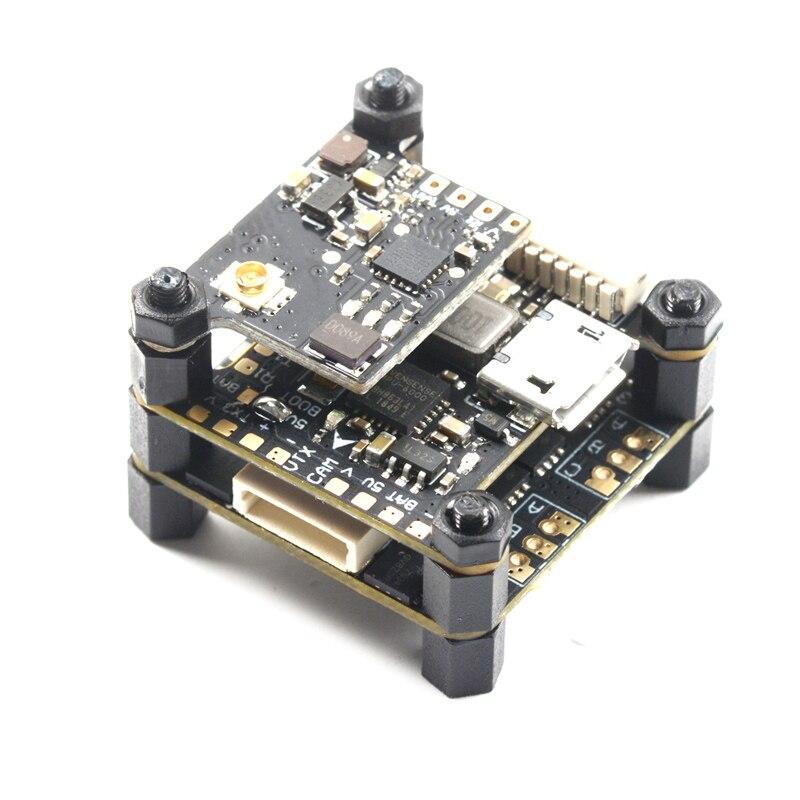 Talon F4 Mini Torre F4 de Control de vuelo Betaflight + 15A BLHELI-S 4in1 ESC + 40CH 100 mW VTX para micro Drone FPV