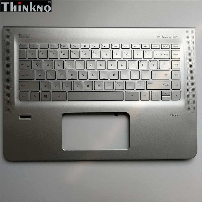 جديد ل HP الحسد 14 ENVY14-J 14-J102TX 14-J104TX 14-J105TX العلوي C غطاء قذيفة مع لوحة المفاتيح 819607-001