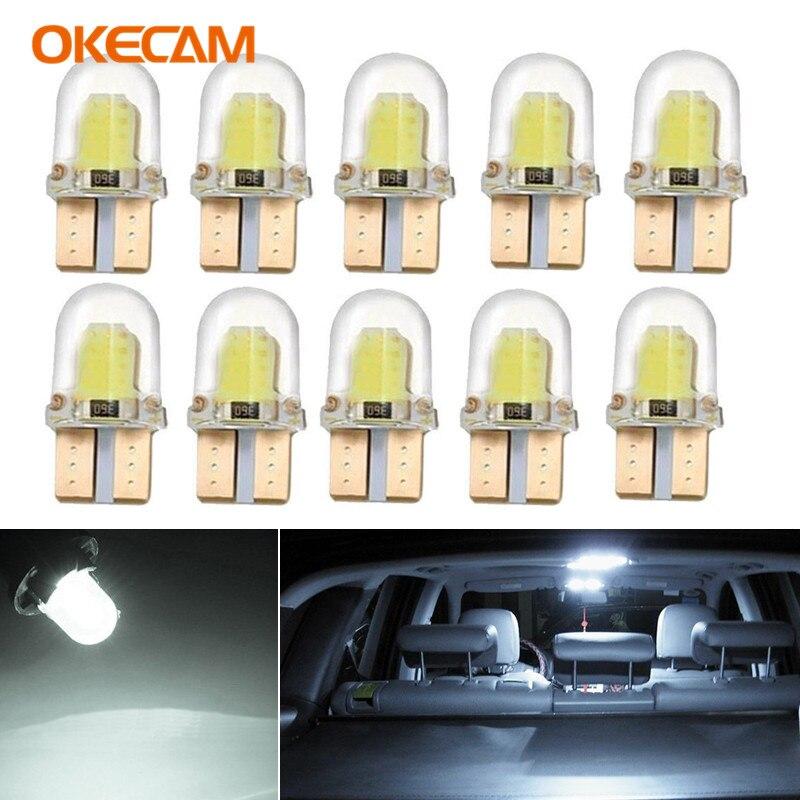 10 stücke T10 W5W Canbus Led-lampen Innenraum Licht Für Volvo XC90 S60 XC60 V70 S80 S40 V40 V50 v60 XC70 C30 S70 C70 V90 XC40 S90