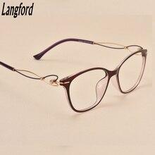 glasses frames for women optical eyeglasses frame Plastic titanium hollow legs prescription glasses