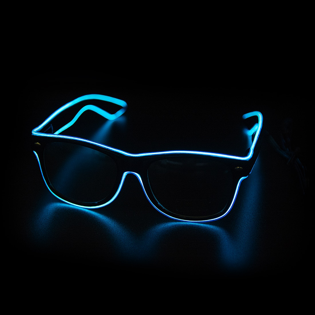 Led Glasses Neon Party Flashing Glasses EL Wire Glowing Gafas Luminous Bril Novelty Gift Glow Sungla