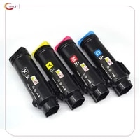 Compatible 4 Pack Toner Cartridge for Dell H625cdw H825cdw S2825cdn  Black 3000 pages  Cyan Magenta Yellow 2500 pages