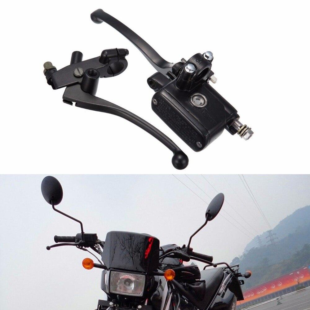 "Palancas de embrague de cilindro maestro de freno Universal de motocicleta para Suzuki GZ250 GN250 GS250 GS400 GS450 GS500 7/8 ""(22mm) manillar"
