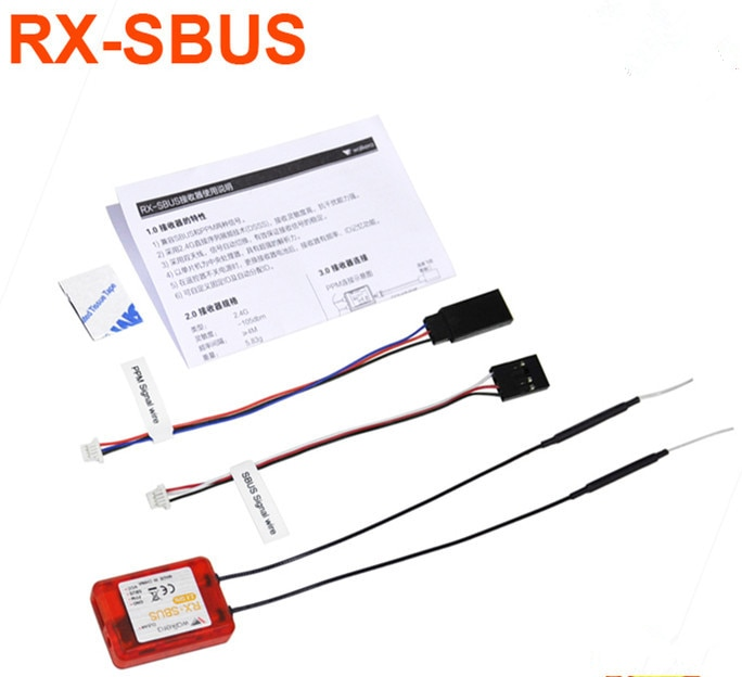 Receptor Walkera Original RX-SBUS (con carcasa)/rx-sbuse (sin carcasa), compatible con PPM TX para dev7/F7/10 / F12E F21212/13