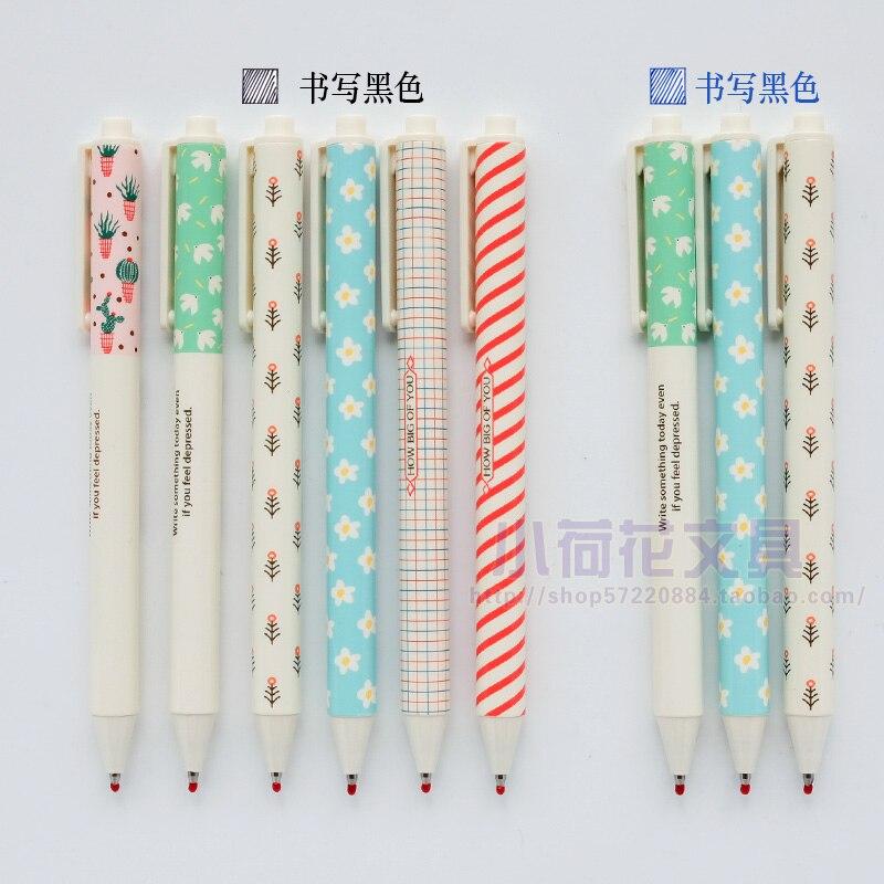 12PCS/LOT M&G chenguang  stationery 0.5mm Press gel pen