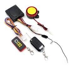 Anti-Hijacking Waterdichte Motorcycle Security Alarm/Een Manier Motorfiets Alarmsysteem 12V Systeem Alarm
