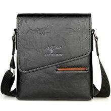 Sommer Luxus Marke Kangaroo Messenger Taschen Männer Leder Casual Umhängetasche Für Männer Business Schulter Tasche Männlichen Kleine Handtasche