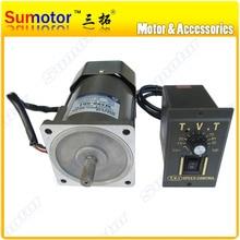 Электродвигатель с высоким крутящим моментом, 120 Вт, переменный ток 110 В, 220 В, 50/60 Гц, с контроллером скорости, переменный ток CW CCW для медового ...